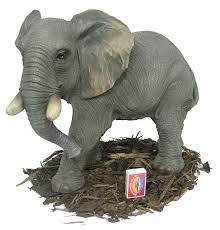 large elephant resin garden ornament 59 99 garden4less uk shop