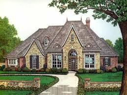 exquisite french country house plans 1 story homes zone in one