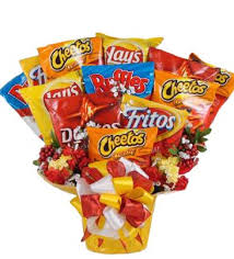 snack basket chips addiction chip snack gift basket