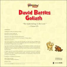 the beginner u0027s bible david battles goliath zondervan