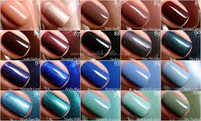 essie color guide 1 100 nailderella