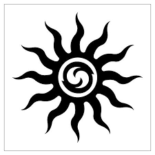 31 best black sun tattoo designs images on pinterest tattoo