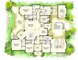 custom luxury floor plan particular awesome modern home plans with