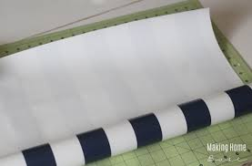 how to make drawer liners with wrapping paper