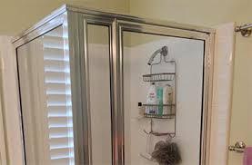 glass shower door installation new look home remodeling