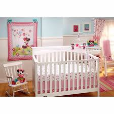 Crib Bedding Sets Walmart Disney Baby Bedding Sweet Minnie Mouse 3 Crib Bedding Set