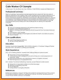 Skills For Barista Resume Resume For Barista Eliolera Com