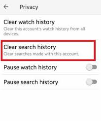how to delete search history on android how to clear search history android phone tablet