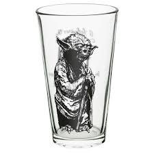 starwars thanksgiving star wars pint glass set for sale darth vader yoda