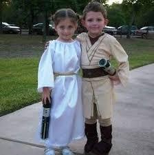 Luke Skywalker Halloween Costume Luke Leia Twinisms Alien Party