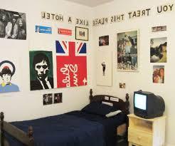 bedroom designs teenage guys blue wardrobe beside study table drum