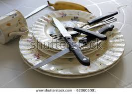 dirty dishes restaurant stock images royalty free images