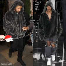 Fashion Sizzlers Archives Fashionsizzle by Drake In Fenty X Puma Out In London Fashionsizzle