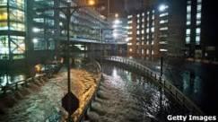 Sandy causa mortes, enchentes e apagões em Nova York
