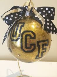 custom glitter personalized large ucf glass by poursomeglitteronme