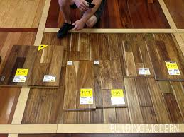 shopping for hardwood flooring