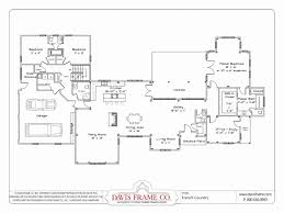 16 x 24 floor plan plans by davis frame weekend timber frame best of small 1 story house floor plans house plan