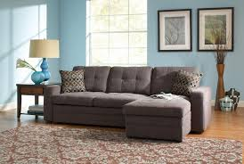 Grey Sectional Sleeper Sofa Outstanding Gray Sectional Sofa Houzz Intended For Sofas