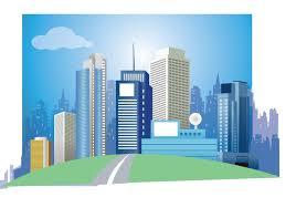 Modern City Modern City Vector Art Download Free Vector Art Stock Graphics