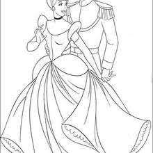 cinderella cleaning house coloring pages hellokids