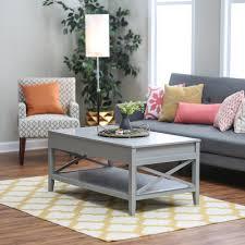 amazon com belham living hampton lift top coffee table gray