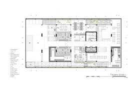 click clack hotel plan b arquitectos basement plans and basements