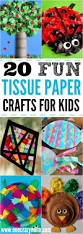tissue paper crafts for kids 20 fun tissue crafts that kids can make