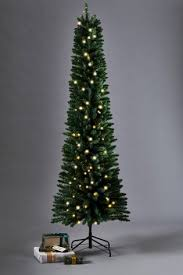buy lit 7ft slim pine tree from the next uk shop