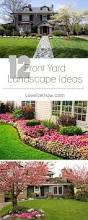 Front Landscaping Ideas by Beautiful Flowerbed Black Mulch Made A Big Difference