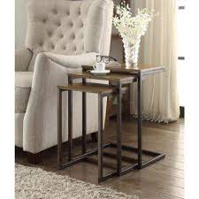 Oak Accent Table Oak Accent Tables Living Room Furniture The Home Depot