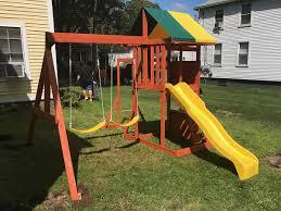 august 2017 swing set installation ma ct ri nh me