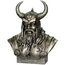 Statues For Home Decor by Odin King Of The Norse Gods Statue By Monte Moore