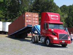 Hire A Shipping Container For Storage How To Move A Ground Level Shipping Container For Storage Use