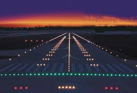 model airport runway lights what do the different coloured lights on airport runways signify
