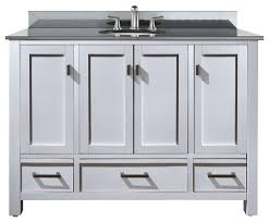48 Inch Bathroom Vanities With Tops Bathroom Amazing 48 Inch Vanity With Top And Sink One Inside