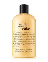 philosophy vanilla birthday cake shampoo shower gel u0026 bubble bath