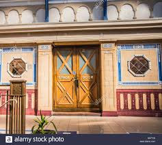 stage door entrance winter gardens blackpool england ray boswell