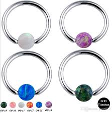 nipple rings pictures images 2018 100 g23 titanium hoop nipple rings clip ball studs nose ring jpg