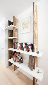Modern Wooden Shelf Design by Weathered Wood Shelf Diy Art