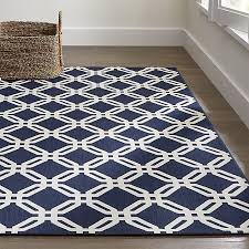 Indoor Outdoor Rug Arlo Blue Outdoor Rug Crate And Barrel