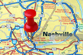 nashville on map nashville tennessee on a map stock photo getty images