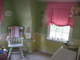 Pink And Green Nursery Decor Garden Pink Green And Yellow Nursery Decor See More Here