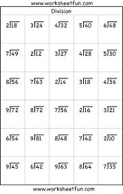 long division worksheets printable worksheets