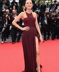 dress blake lively dress burgundy dress blake lively maroon