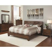 Low Profile King Bed Coaster Furniture 203751kw Avalon Low Profile California King Bed