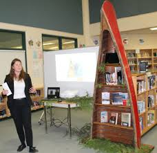 Canoe Bookshelves Canoe Bookshelf Dedications Nanaimo Ladysmith Public Schools