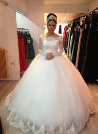 princesse robe de mariã e illusion sleeves wedding dresses new robe de mariage princess