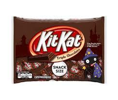 kit kat halloween candy triple chocolate kit kats popsugar food
