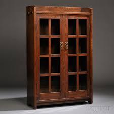 stickley bookcase for sale gustav stickley bookcase sale number 2661b lot number 210