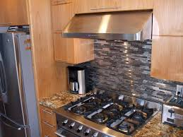 stainless kitchen backsplash stainless kitchen backsplash long rectangle contemporary stainless steel backsplash stainless chimney dark metal stove cream